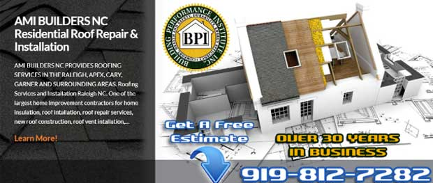 Residential Roofing Services Raleigh NC