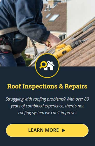 roof inspections and repairs