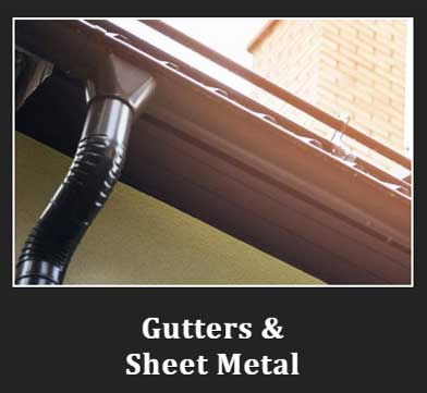 gutter and sheet metal